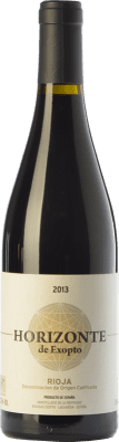 13,95 € Envoi gratuit | Vin rouge Exopto Horizonte Crianza D.O.Ca. Rioja La Rioja Espagne Tempranillo, Grenache, Mazuelo Bouteille 75 cl