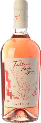9,95 € Free Shipping | Rosé wine Falesco Tellus Rosé di Syrah I.G.T. Lazio Lazio Italy Syrah Bottle 75 cl