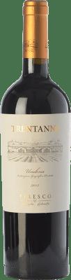 17,95 € Free Shipping | Red wine Falesco Trentanni I.G.T. Umbria Umbria Italy Merlot, Sangiovese Bottle 75 cl