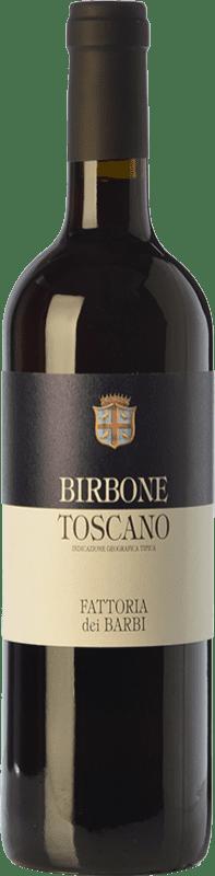 13,95 € Envoi gratuit | Vin rouge Fattoria dei Barbi Birbone I.G.T. Toscana Toscane Italie Merlot, Sangiovese Bouteille 75 cl