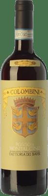 19,95 € Free Shipping | Red wine Fattoria dei Barbi Colombini D.O.C. Rosso di Montalcino Tuscany Italy Sangiovese Bottle 75 cl
