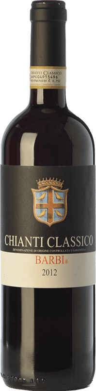 13,95 € Envío gratis | Vino tinto Fattoria dei Barbi D.O.C.G. Chianti Classico Toscana Italia Sangiovese, Canaiolo Botella 75 cl