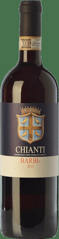 9,95 € Envoi gratuit | Vin rouge Fattoria dei Barbi D.O.C.G. Chianti Toscane Italie Sangiovese, Canaiolo Bouteille 75 cl