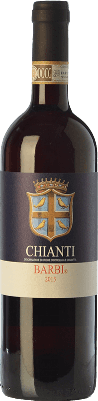 9,95 € Envío gratis | Vino tinto Fattoria dei Barbi D.O.C.G. Chianti Toscana Italia Sangiovese, Canaiolo Botella 75 cl