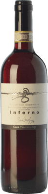 17,95 € Free Shipping | Red wine Fay Inferno D.O.C.G. Valtellina Superiore Lombardia Italy Nebbiolo Bottle 75 cl