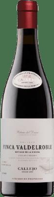 18,95 € Envío gratis | Vino tinto Callejo Finca Valdelroble Crianza I.G.P. Vino de la Tierra de Castilla y León Castilla y León España Tempranillo, Merlot, Syrah Botella 75 cl