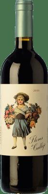 9,95 € Envío gratis | Vino tinto Callejo Flores de Callejo Joven D.O. Ribera del Duero Castilla y León España Tempranillo Botella 75 cl