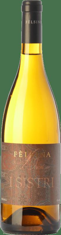 12,95 € Envío gratis | Vino blanco Fèlsina I Sistri I.G.T. Toscana Toscana Italia Chardonnay Botella 75 cl