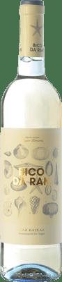 9,95 € Kostenloser Versand | Weißwein Fento Bico da Ran D.O. Rías Baixas Galizien Spanien Albariño Flasche 75 cl