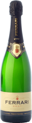 32,95 € Free Shipping   White sparkling Ferrari Brut Reserva D.O.C. Trento Trentino Italy Chardonnay, Pinot White Bottle 75 cl.   Thousands of wine lovers trust us to get the best price guarantee, free shipping always and hassle-free shopping and returns.