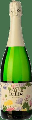 5,95 € Envoi gratuit | Blanc moussant Ferré i Catasús Celler Ballbé Brut Nature Joven D.O. Cava Catalogne Espagne Macabeo, Xarel·lo, Parellada Bouteille 75 cl | Des milliers d'amateurs de vin nous font confiance avec la garantie du meilleur prix, une livraison toujours gratuite et des achats et retours sans complications.