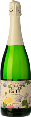 5,95 € Free Shipping | White sparkling Ferré i Catasús Celler Ballbé Brut Nature Joven D.O. Cava Catalonia Spain Macabeo, Xarel·lo, Parellada Bottle 75 cl | Thousands of wine lovers trust us to get the best price guarantee, free shipping always and hassle-free shopping and returns.