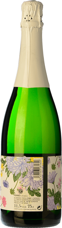 5,95 € Free Shipping | White sparkling Ferré i Catasús Celler Ballbé Brut Nature Joven D.O. Cava Catalonia Spain Macabeo, Xarel·lo, Parellada Bottle 75 cl. | Thousands of wine lovers trust us to get the best price guarantee, free shipping always and hassle-free shopping and returns.
