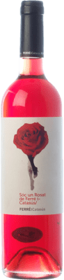 9,95 € Free Shipping | Rosé wine Ferré i Catasús Sóc un Rosat D.O. Penedès Catalonia Spain Merlot Bottle 75 cl. | Thousands of wine lovers trust us to get the best price guarantee, free shipping always and hassle-free shopping and returns.
