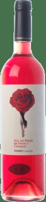9,95 € Envoi gratuit | Vin rose Ferré i Catasús Sóc un Rosat D.O. Penedès Catalogne Espagne Merlot Bouteille 75 cl | Des milliers d'amateurs de vin nous font confiance avec la garantie du meilleur prix, une livraison toujours gratuite et des achats et retours sans complications.