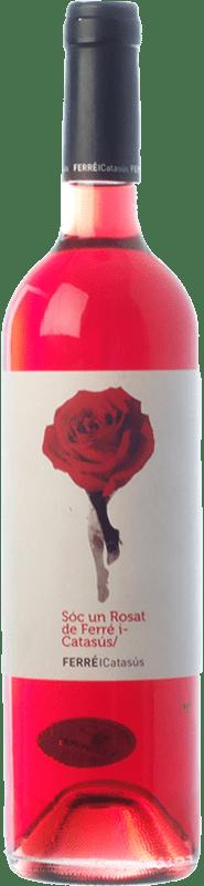 9,95 € Envio grátis | Vinho rosé Ferré i Catasús Sóc un Rosat D.O. Penedès Catalunha Espanha Merlot Garrafa 75 cl