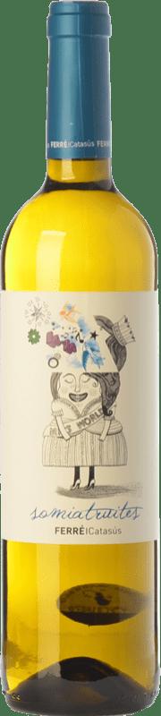 8,95 € Kostenloser Versand   Weißwein Ferré i Catasús Somiatruites D.O. Penedès Katalonien Spanien Xarel·lo, Chardonnay, Sauvignon Weiß, Muscat Kleinem Korn, Chenin Weiß Flasche 75 cl
