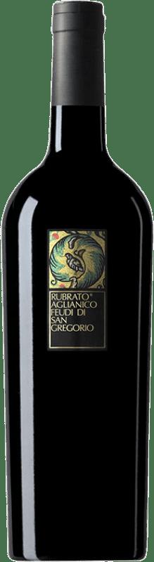 9,95 € Envoi gratuit | Vin rouge Feudi di San Gregorio Rubrato D.O.C. Irpinia Campanie Italie Aglianico Bouteille 75 cl
