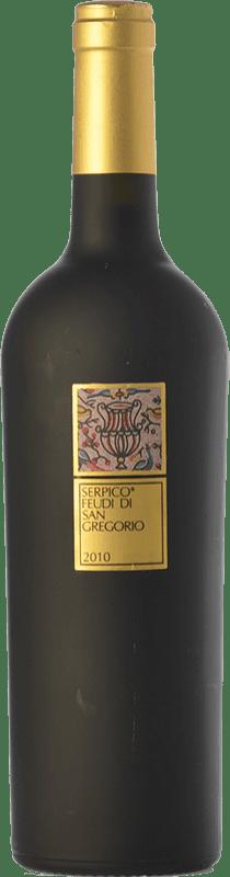 59,95 € Envío gratis | Vino tinto Feudi di San Gregorio Serpico D.O.C. Irpinia Campania Italia Aglianico Botella 75 cl