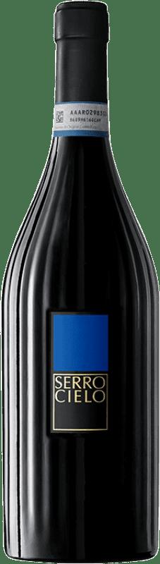 11,95 € Envío gratis | Vino blanco Feudi di San Gregorio Serrocielo D.O.C. Sannio Campania Italia Falanghina Botella 75 cl