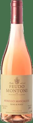 13,95 € Free Shipping | Rosé wine Feudo Montoni Rose di Adele I.G.T. Terre Siciliane Sicily Italy Nerello Mascalese Bottle 75 cl