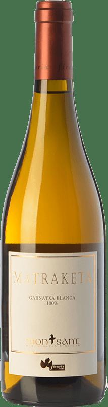 18,95 € Envoi gratuit | Vin blanc Ficaria Matraketa Blanc D.O. Montsant Catalogne Espagne Grenache Blanc Bouteille 75 cl