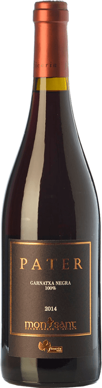 29,95 € Free Shipping | Red wine Ficaria Pater Crianza D.O. Montsant Catalonia Spain Grenache Bottle 75 cl