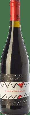 14,95 € Free Shipping | Red wine Fil'loxera Sentada sobre la Bestia Joven D.O. Valencia Valencian Community Spain Tempranillo, Monastrell, Grenache Tintorera, Malvasía Bottle 75 cl