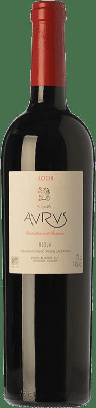 175,95 € Envío gratis | Vino tinto Allende Aurus Reserva 2010 D.O.Ca. Rioja La Rioja España Tempranillo, Graciano Botella 75 cl