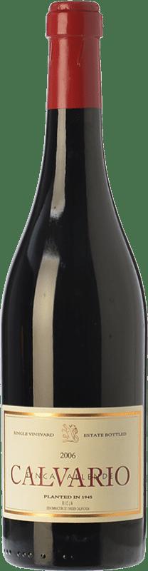 92,95 € Envoi gratuit | Vin rouge Allende Calvario Crianza 2010 D.O.Ca. Rioja La Rioja Espagne Tempranillo, Grenache, Graciano Bouteille 75 cl