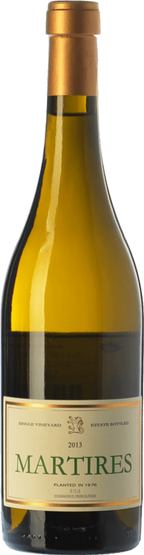 106,95 € Free Shipping | White wine Allende Mártires D.O.Ca. Rioja The Rioja Spain Viura Bottle 75 cl