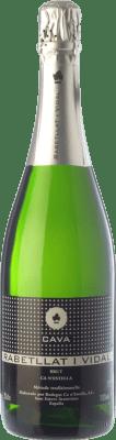 6,95 € Envio grátis | Espumante branco Ca N'Estella Rabetllat i Vidal Brut D.O. Cava Catalunha Espanha Macabeo, Xarel·lo Garrafa 75 cl. | Milhares de amantes do vinho confiam em nós com a garantia do melhor preço, envio sempre grátis e compras e devoluções sem complicações.