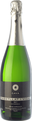 6,95 € Free Shipping | White sparkling Ca N'Estella Rabetllat i Vidal Brut D.O. Cava Catalonia Spain Macabeo, Xarel·lo Bottle 75 cl. | Thousands of wine lovers trust us to get the best price guarantee, free shipping always and hassle-free shopping and returns.