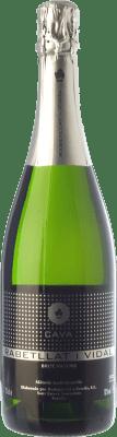 9,95 € Envío gratis | Espumoso blanco Ca N'Estella Rabetllat i Vidal Brut Nature Reserva D.O. Cava Cataluña España Macabeo, Xarel·lo, Chardonnay Botella 75 cl