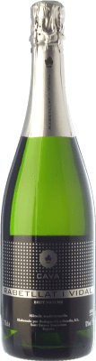 9,95 € Free Shipping | White sparkling Ca N'Estella Rabetllat i Vidal Brut Nature Reserva D.O. Cava Catalonia Spain Macabeo, Xarel·lo, Chardonnay Bottle 75 cl. | Thousands of wine lovers trust us to get the best price guarantee, free shipping always and hassle-free shopping and returns.
