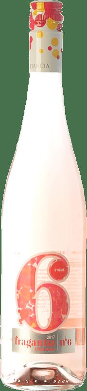 4,95 € Free Shipping | Rosé wine Finca Constancia Fragantia Nº 6 I.G.P. Vino de la Tierra de Castilla Castilla la Mancha Spain Syrah Bottle 75 cl