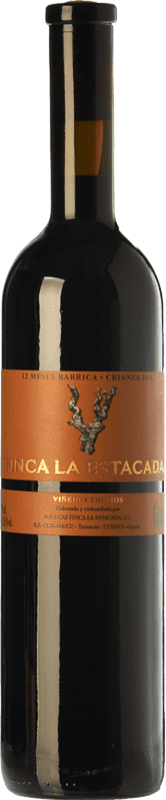 8,95 € Envoi gratuit | Vin rouge Finca La Estacada 12 Meses Crianza D.O. Uclés Castilla La Mancha Espagne Tempranillo Bouteille 75 cl