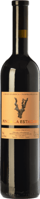 6,95 € Free Shipping | Red wine Finca La Estacada 6 Meses Joven D.O. Uclés Castilla la Mancha Spain Tempranillo Bottle 75 cl