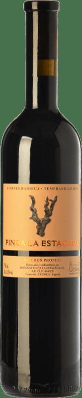 4,95 € Envoi gratuit | Vin rouge Finca La Estacada 6 Meses Joven D.O. Uclés Castilla La Mancha Espagne Tempranillo Bouteille 75 cl