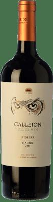 17,95 € Free Shipping | Red wine Finca La Luz Callejón del Crimen Barricas Reservadas Crianza I.G. Valle de Uco Uco Valley Argentina Malbec Bottle 75 cl