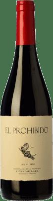 14,95 € Free Shipping | Red wine Míllara El Prohibido Joven Spain Mencía, Sousón Bottle 75 cl