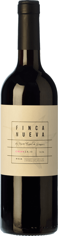 9,95 € Envoi gratuit | Vin rouge Finca Nueva Crianza D.O.Ca. Rioja La Rioja Espagne Tempranillo Bouteille 75 cl