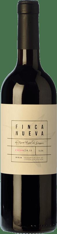 9,95 € Envío gratis | Vino tinto Finca Nueva Crianza D.O.Ca. Rioja La Rioja España Tempranillo Botella 75 cl