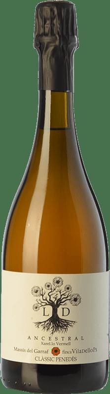 19,95 € Free Shipping | White sparkling Finca Viladellops LD Ancestral D.O. Penedès Catalonia Spain Xarel·lo Vermell Bottle 75 cl