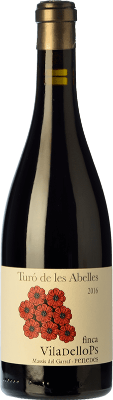 22,95 € Free Shipping | Red wine Finca Viladellops Turó de les Abelles Crianza D.O. Penedès Catalonia Spain Syrah, Grenache Bottle 75 cl