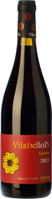 6,95 € Free Shipping | Red wine Finca Viladellops Garnatxa Joven D.O. Penedès Catalonia Spain Grenache Bottle 75 cl. | Thousands of wine lovers trust us to get the best price guarantee, free shipping always and hassle-free shopping and returns.