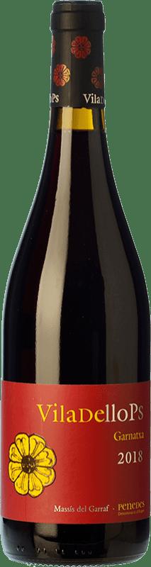 6,95 € Free Shipping | Red wine Finca Viladellops Garnatxa Joven D.O. Penedès Catalonia Spain Grenache Bottle 75 cl