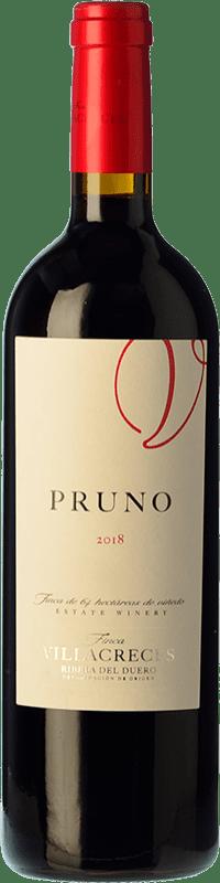 13,95 € Free Shipping | Red wine Finca Villacreces Pruno Crianza D.O. Ribera del Duero Castilla y León Spain Tempranillo, Cabernet Sauvignon Magnum Bottle 1,5 L