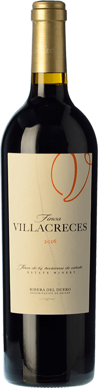 Red wine Finca Villacreces Crianza D.O. Ribera del Duero Castilla y León Spain Tempranillo, Merlot, Cabernet Sauvignon Bottle 75 cl | Thousands of wine lovers trust us to get the best price guarantee, free shipping always and hassle-free shopping and returns.