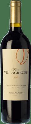 21,95 € 免费送货 | 红酒 Finca Villacreces Crianza D.O. Ribera del Duero 卡斯蒂利亚莱昂 西班牙 Tempranillo, Merlot, Cabernet Sauvignon 瓶子 75 cl